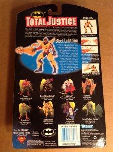 Total Justice Black Lightning Figure MOC Justice League Kenner