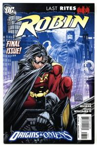 Robin #183-2009 Rare Last issue comic book DC NM-