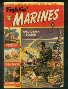 FIGHTIN' MARINES #2 1951-ST JOHN-1ST CANTEEN KATE-BAKER G+