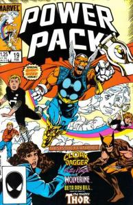 Power Pack (1984 series) #19, NM- (Stock photo)