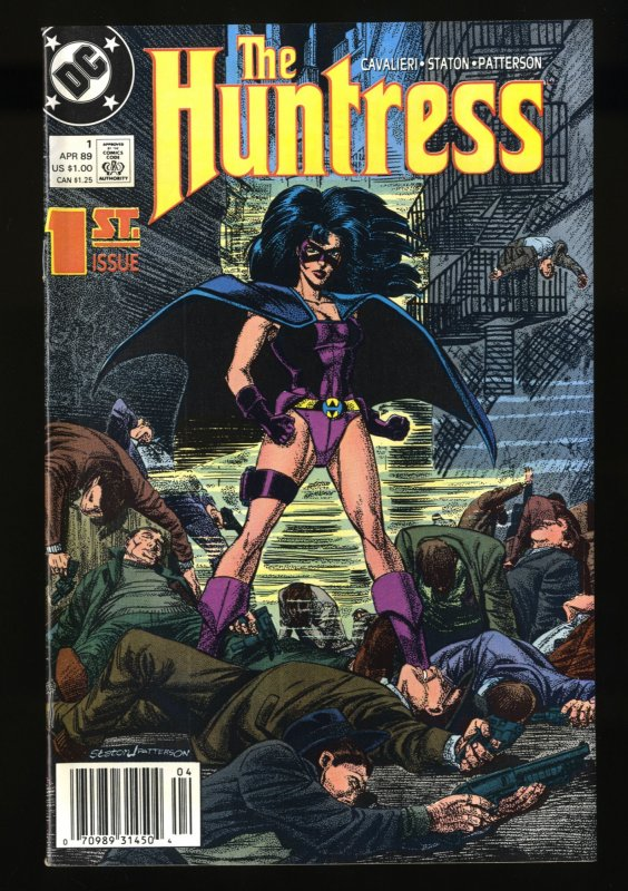 Huntress (1989) #1 NM+ 9.6 Newsstand Variant