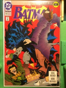 Batman #492 Knightfall part 1