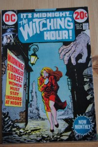The Witching Hour, #24, Jack Kirby art, Stan Lee Stories, Classic!