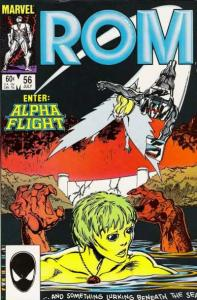 Rom (1979 series) #56, VF+ (Stock photo)