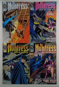 Huntress #16 17 18 19 VF/NM Batman DC 1990