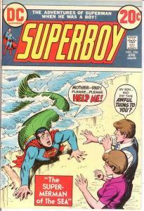 SUPERBOY 194 F-VF  April 1973 COMICS BOOK