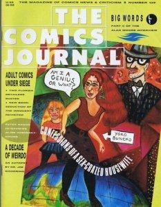 ORIGINAL Vintage 1990 Comics Journal Magazine #139 Alan Moore