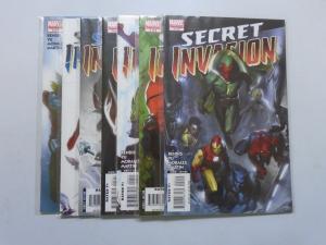 Secret Invasion (2008) #2-8 Run - 8.0 VF - 2008