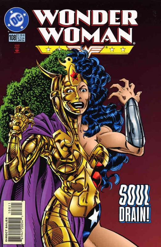 Wonder Woman (2nd Series) #108 VF; DC | combined shipping available - details in