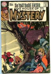 HOUSE OF MYSTERY #187 1970  NEAL ADAMS TOTH ART HORROR-- FN