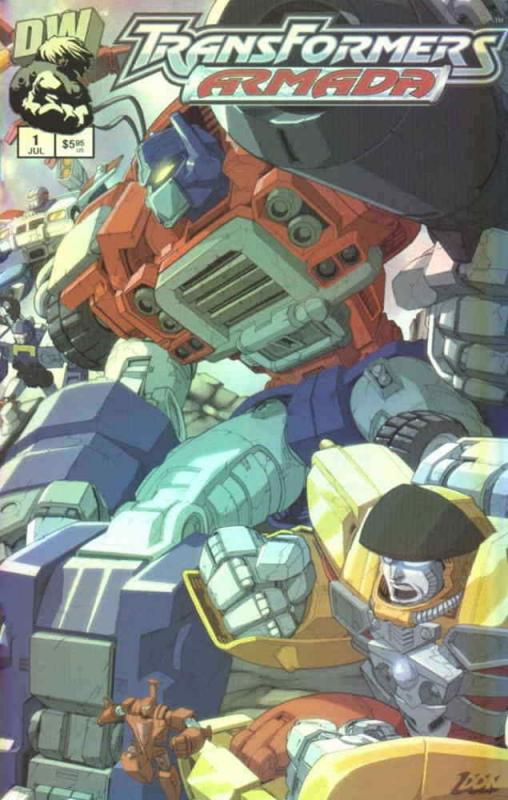 Transformers: Armada #1A VF/NM; Dreamwave | combined shipping available - detail