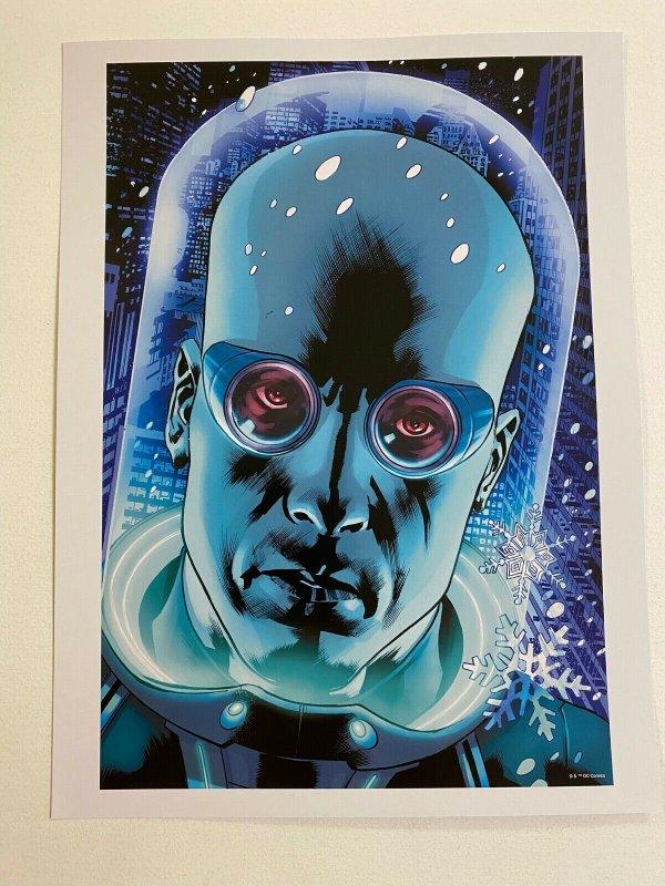 Mr. Freeze DC Comics poster by Bryan Hitch