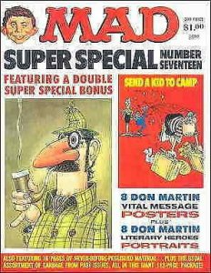 Mad Super Special #17 VF; E.C | save on shipping - details inside