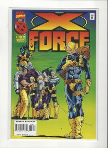 X-Force #44 Cannonball Quits VF/NM Marvel Comics