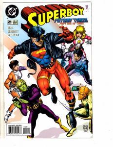 12 Superboy DC Comics # 21 22 23 24 25 26 27 28 29 30 31 32 Flash Superman J214