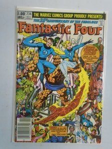 Fantastic Four #236 20th anniversary Newsstand edition 8.5 VF+ (1981)