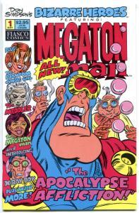 BIZARRE HEROES #1 NM 2 VF/NM, Megaton Man, Meddler, 1-2, 1994, Don Simpson