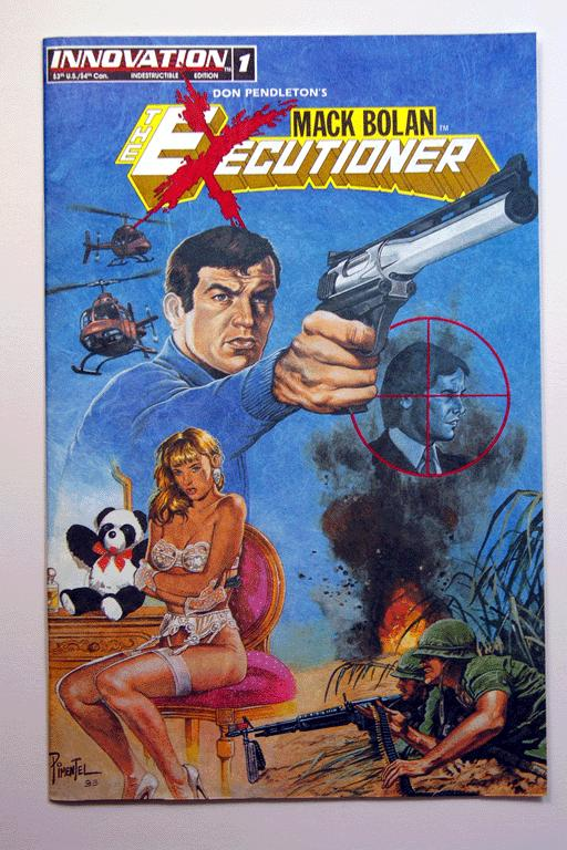 Mack Bolan: The Executioner #1 July 1993