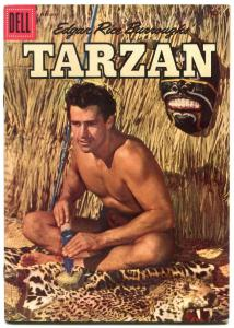 Tarzan Comics #89 1957- Gordon Scott photo cover- Dell Comics F/VF