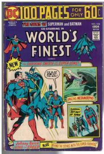 WORLDS FINEST 224 VG Aug. 1974