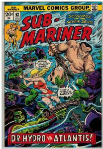 SUBMARINER 62 VF June 1973