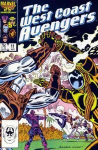 West Coast Avengers (1985 series) #11, VF+ (Stock photo)