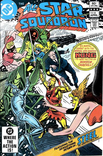DC Comics All-Star Squadron #8 VF+