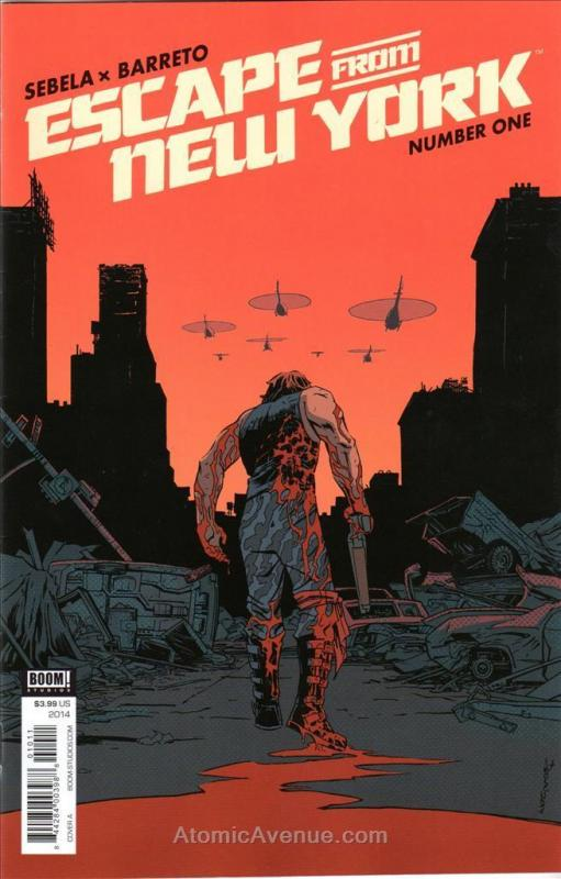 Escape From New York #1A VF/NM; Boom! | save on shipping - details inside