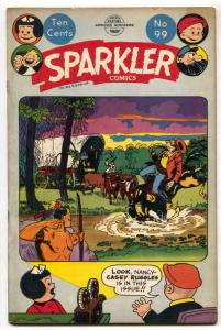 Sparkler #99 1951- Nancy- Captain & the Kids VG/F