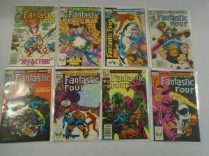Fantastic Four 1st series run from #250-299 50 different 6.0 FN (1983-87)