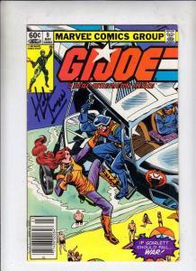 G.I. Joe signed #9 (Mar-83) VF/NM High-Grade G.I. Joe