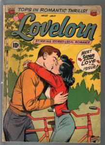 Lovelorn #27 1952-ACG-romantic thrills-pre-code romance-woman in prison-VG