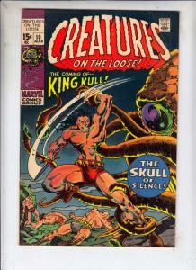 Creatures on the Loose #10 (Mar-71) VF High-Grade King Kull
