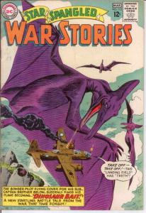 STAR SPANGLED WAR 113 F-VF  March 1964 COMICS BOOK