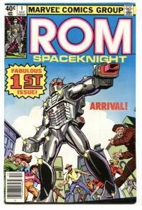 ROM #1-MARVEL 1979-1st ISSUE-THE SPACEKNIGHT.-VF+