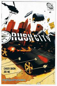 RUSH CITY #0, Preview, Promo, Chuck Dixon, 2006, NM, lots more items in r store