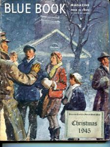 BLUE BOOK PULP-DECEMBER 1945-G/VG-CHRISTMAS-NELSON BOND-BONHAM-BEDFORD- G/VG
