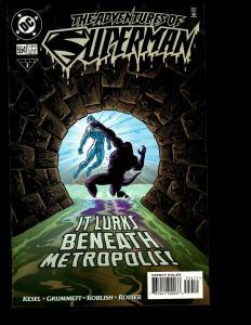10 Adventures of Superman DC Comics # 554 555 556 557 558 559 560 561 562 0 JF16