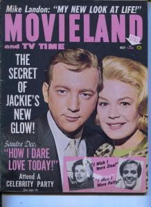 Movieland And TV Time-Bobby Darin-Sandra Dee-Beatles-May-1964
