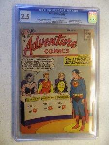 ADVENTURE COMICS # 247 DC 1ST LEGION SUPER-HEROES SUPERBOY RARE