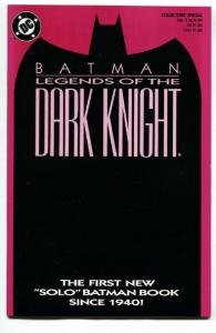 Batman: Legends of the Dark Knight #1 magenta cover-first issue DC