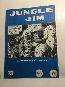 Jungle Jim 1 Vf+ Very Fine+ 8.5 Oversized Magazine ST
