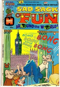 SAD SACK FUN AROUND THE WORLD (1974) 1 VG+