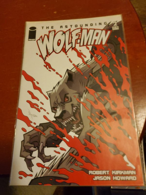The Astounding Wolf-Man #2 (2007)