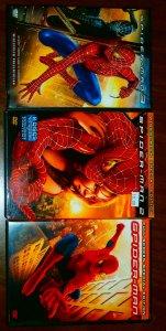 Fantastic Four I,II Iron Man I,II Spider-Man I-III X-Men I-III Daredevil DVD set