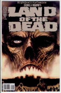 LAND of the DEAD #1, VF, George Romero,Undead, Zombies, more Horror in store