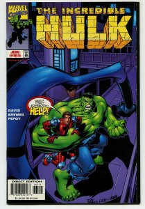 Incredible Hulk 465 NM+ 9.6 Uncertified Marvel 1998 FREE SHIP