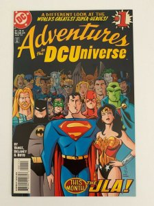Adventures in the DC Universe #1 DC comics NM