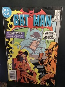 Batman #378 (1984) high- grade Mad Hatter and Nocturna key! VF Wow!