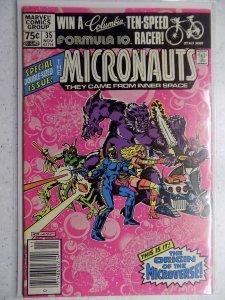 Micronauts #35 (1981)